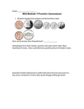New York Engage Math Module 7 Mid Module Exam Practice
