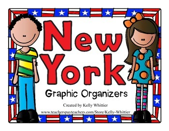 New York Graphic Organizers (Perfect for KWL charts and ge