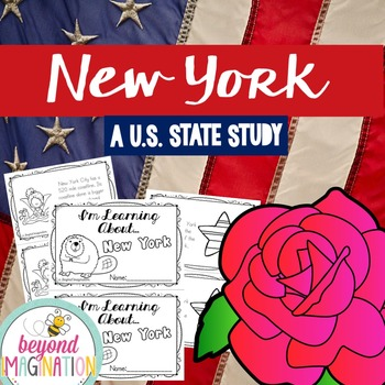 New York | State Study | 56 Pages for Differentiated Learn