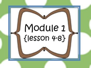 New York Math Modules-5th grade {module 1; lessons 4-8-sup