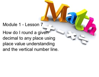 NYS 5th Grade Math Module 1 Lesson 7 Smart Notebook Lesson