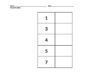New York State Alternate Assessment  Math Worksheet