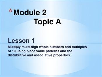 New York State Grade 5 Math Common Core Module 2 Topic A L