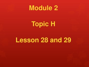 New York State Grade 5 Math Common Core Module 2 Topic H L
