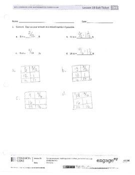 New York State Grade 5 Math Common Core Module 4 Lesson 17