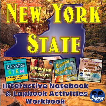New York State Interactive Notebook and Lapbook Student Wo