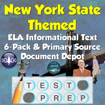 New York State Themed Primary Source Document Depot and Te