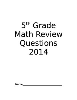 New York State 2014  Sample Test Questions For Practice