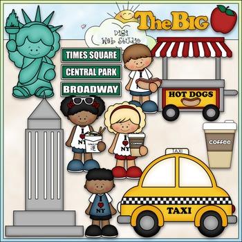 New York Vacation Clip Art - New York Clip Art - CU Clip A