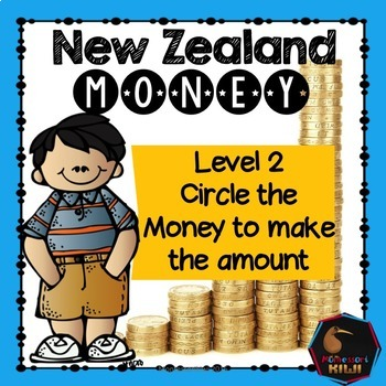 New Zealand Money - circle the money to make the amount