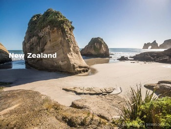 New Zealand - Power Point - Information Facts Pictures His