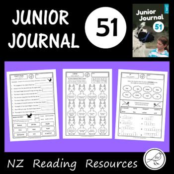 New Zealand Reading - Junior Journal 51 - Worksheets