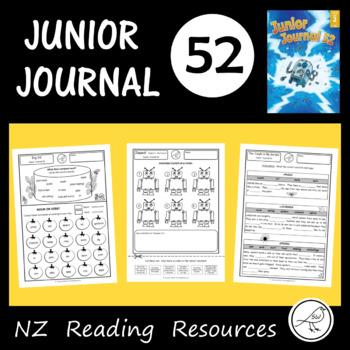 New Zealand Reading - Junior Journal 52 - Classroom Worksheets