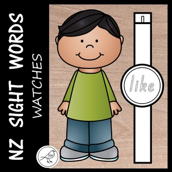 New Zealand Sight Words  -  watches