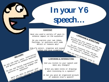 New Zealand Year 6 & 7 Speech Requirements