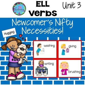 ESL Newcomers Verbs!  ELL Activities
