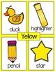 ESL Newcomer Color Words  Interactive Printables