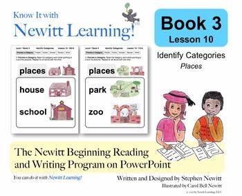 Newitt Book 3 PowerPoint: Identify Categories, Lesson 10 (