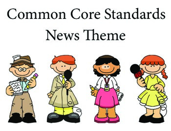 News 3rd grade English Common core standards posters