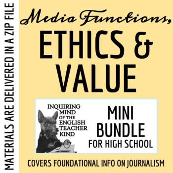 News Ethics, Functions & Value - Mass Media Unit Bundle (P
