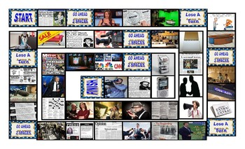 News Media Board Game