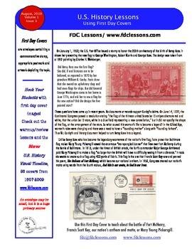 Newsletter - Betsy Ross and the Star Spangled Banner Flag
