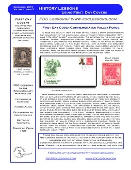 Newsletter - George and Martha at Valley Forge