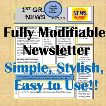 Newsletter Editable
