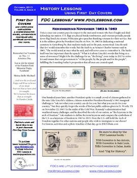 Newsletter - Gettysburg & JFK, One hundred Years Apart