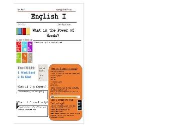 Newsletter Style Syllabus ---Microsoft Word