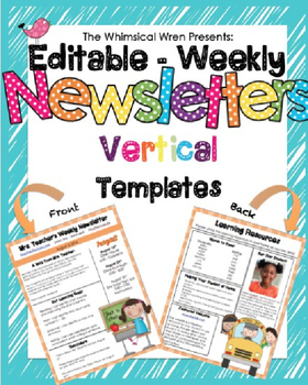 Newsletter Template - Vertical - All Year Included