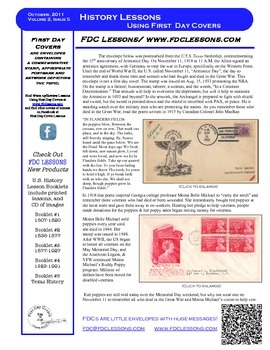 Newsletter - World War I Armistice Day