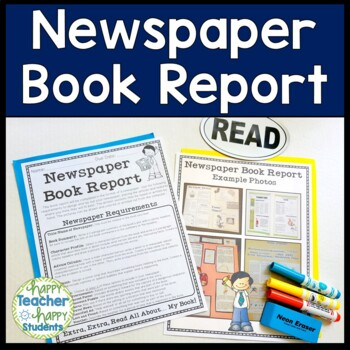 Newspaper Book Report: Fiction & Non-Fiction Book Report N