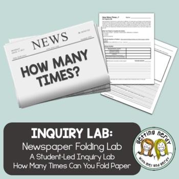 Newspaper Inquiry Lab - Scientific Method