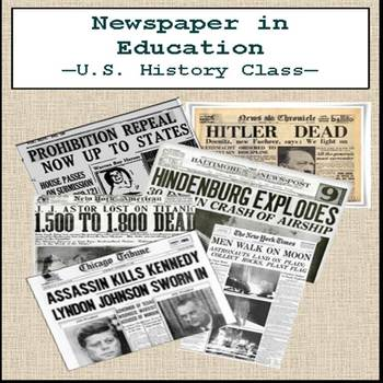 Newspaper in Education - Comparing Themes in U.S. History
