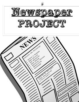 Newspaper project on Tuck Everlasting