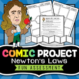Newton's Laws Comic Strip - Project