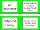 Newton's Laws Flashcard Definitions!