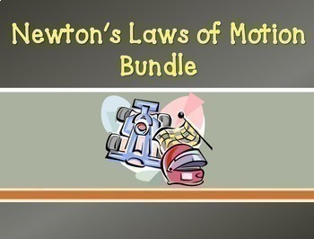 (OVER 50% OFF) Bundle: Newton's Laws of Motion