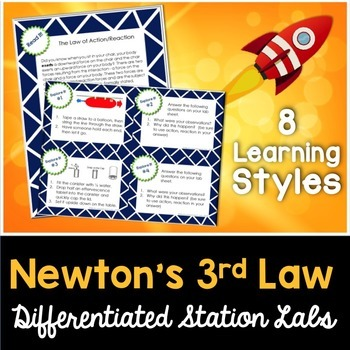 Newton's Laws - 3rd Law - Kesler Science Station Labs