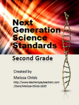 Next Generation Science Standards 2nd Grade Anchor Charts