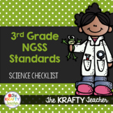 Next Generation Science Standards Checklist 3rd Grade NGSS