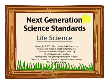 Next Generation Science Standards For High School Life Science 3