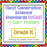 """Next Generation Science Standards (NGSS) """"I Can"""" posters f"""