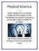 Next Generation Science Standards Science Anchor Charts Fo