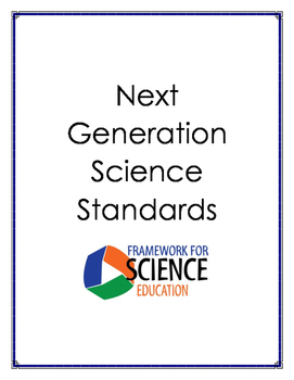 Next Generation Science Standards Science Anchor Charts Th