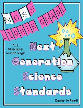Next Generation Science Standards for Eighth Grade