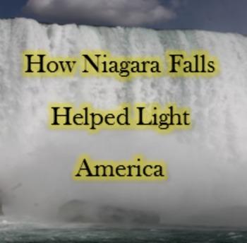Niagara Falls mini unit - hydroelectricity - QR Code - inf
