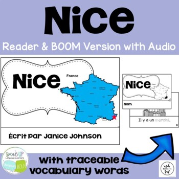 Nice, France Reader & Vocab work ~ Simplified for Language