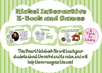 Nickels Interactive E-Book and Games for Smartboard